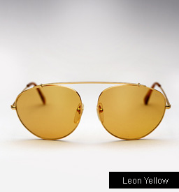 Super Leon Yellow Sunglasses