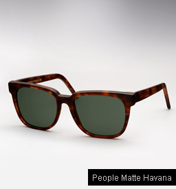 Super People Matte Havana Sunglasses