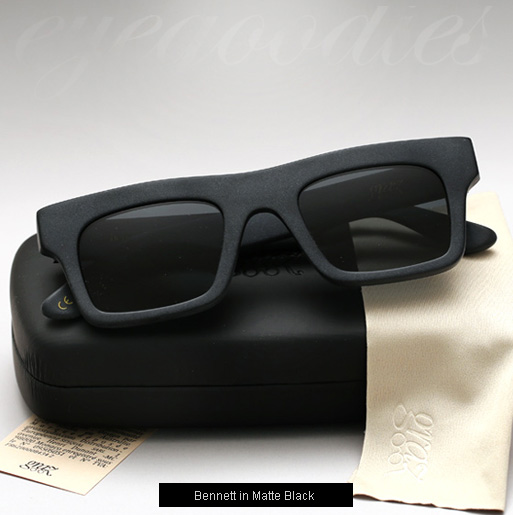 Graz Bennett sunglasses - matte black