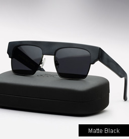 Graz General Idea Sunglasses -  matte black