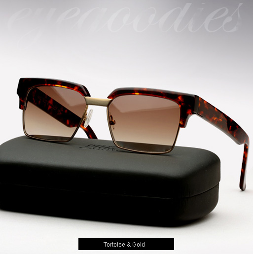 Graz Otis sunglasses - tortoise and gold