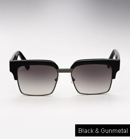 Graz Ralph sunglasses - Black and Gunmetal