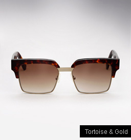 Graz Ralph sunglasses - tortoise and Gold