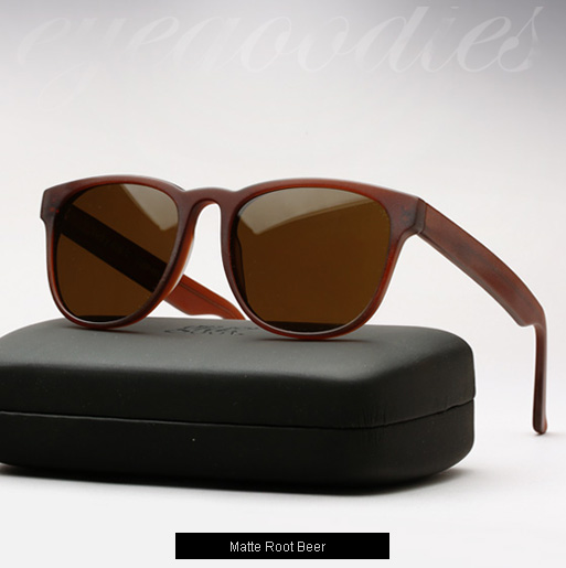 Graz Rocky sunglasses - matte root beer