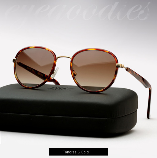 Graz Stray III sunglasses - tortoise and gold
