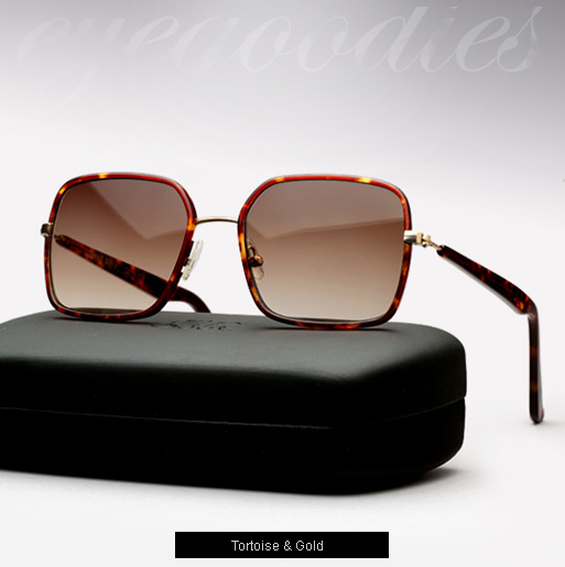 Graz Stray II sunglasses - tortoise and gold