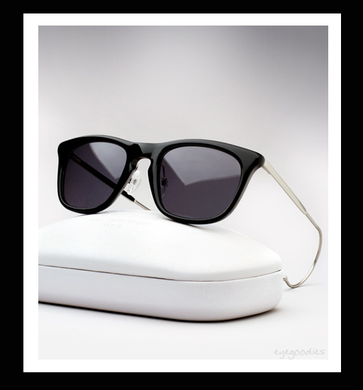 Maison Martin Margiela Cable Temple Sunglasses - Black