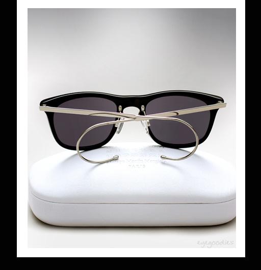 Maison Martin Margiela Cable Temple Sunglasses - Black