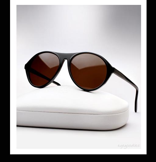 Maison Martin Margiela Replica France Sunglasses - Black