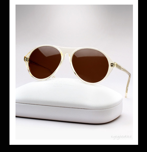 Maison Martin Margiela Replica France Sunglasses - Transparent Yellow