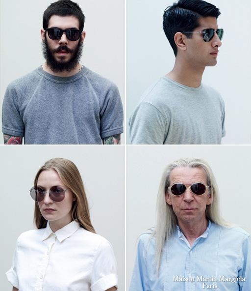 Shop Maison Martin Margiela sunglasses