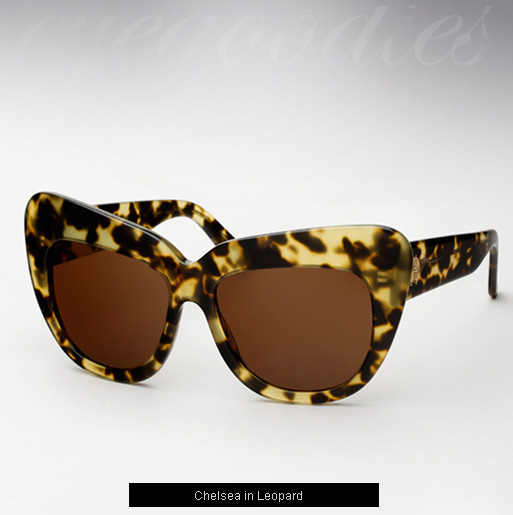 House of Harlow Chelsea Sunglasses - Leopard