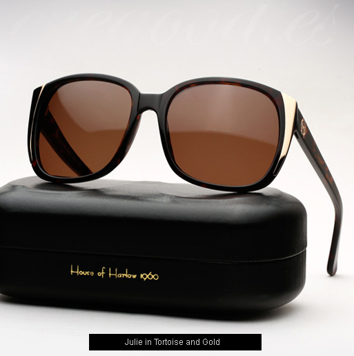 House of Harlow Julie Sunglasses - Tortoise and Gold