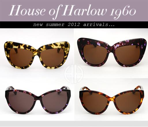 House of Harlow sunglasses
