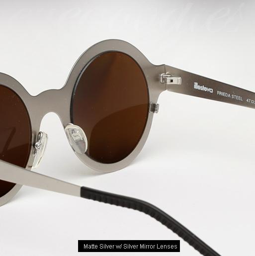 Illesteva Frieda Steel sunglasses - Matte Silver