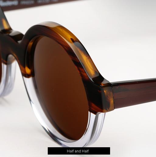 Illesteva Frieda Sunglasses - Half/Half