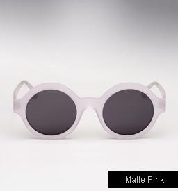 Illesteva Frieda Sunglasses - Matte Pink