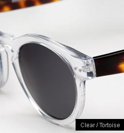 Illesteva Leonard sunglasses - Clear and Tortoise
