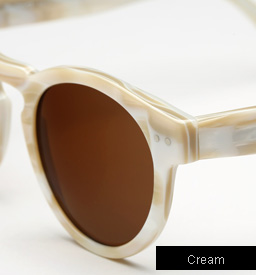 Illesteva Leonard sunglasses - Cream