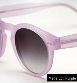 Illesteva Leonard sunglasses - Matte Light Purple
