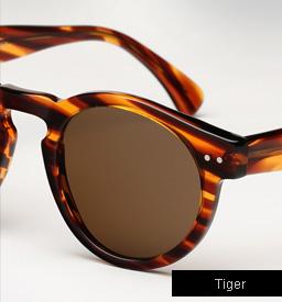 Illesteva Leonard sunglasses - Tiger