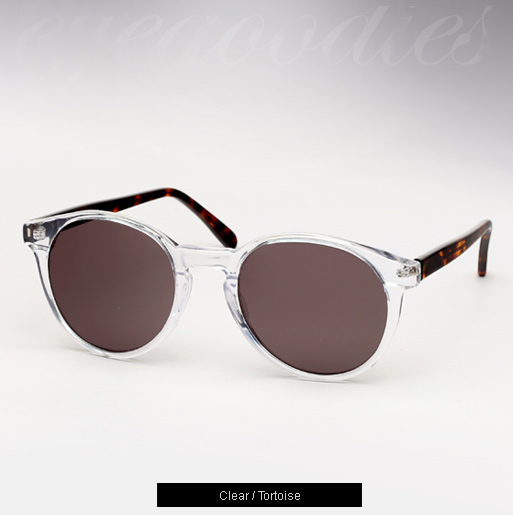 Illesteva Lily sunglasses - Clear and Tortoise