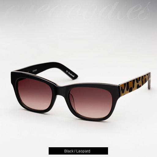 Ksubi Al Tarf sunglasses - Black and Leopard