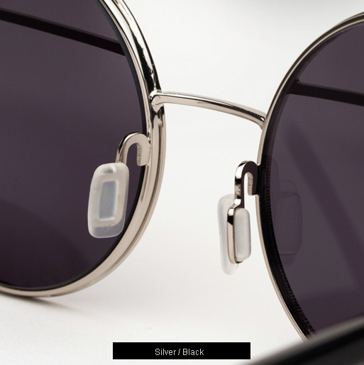 Ksubi Omicron sunglasses - Silver and Black