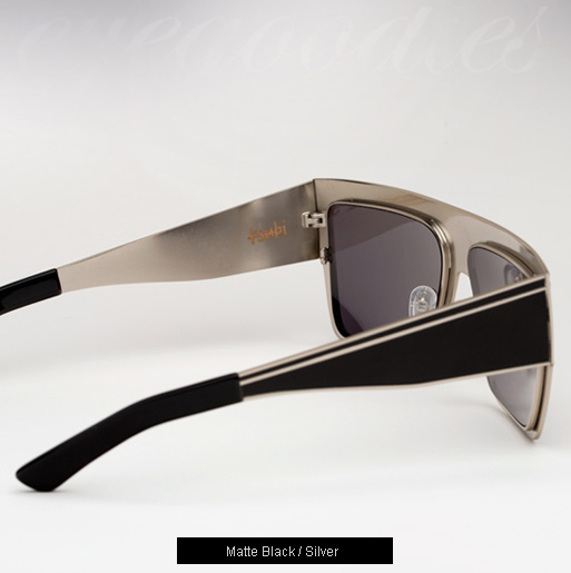 Ksubi Perseus sunglasses - Matte Black and Silver