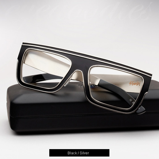 Ksubi Sirius eyeglasses - Black and Silver