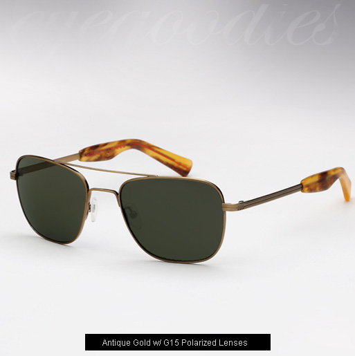 Mosley Tribes Cayton sunglasses - Antique Gold