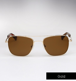 Mosley Tribes Cayton sunglasses - Gold
