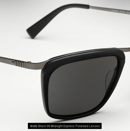 Mosley Tribes Woodward sunglasses - Matte Black