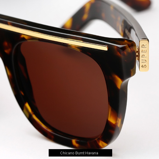 Super Chicano Burnt Havana Sunglasses
