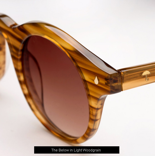 Contego The Bellow sunglasses - Light Woodgrain