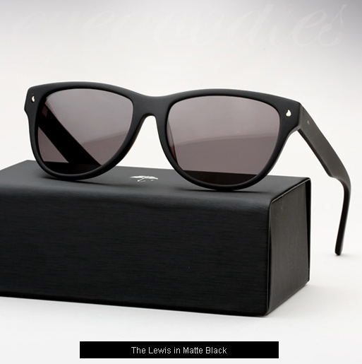 Contego The lewis Sunglasses - Matte Black