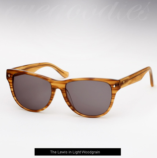 Contego The lewis Sunglasses - Light Woodgrain