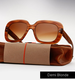 Garrett Leight Amoroso sunglasses - Demi Blonde