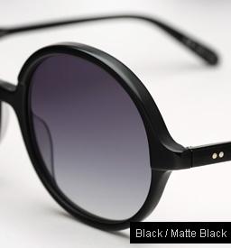 Garrett Leight Nowita sunglasses - Black / Matte Black