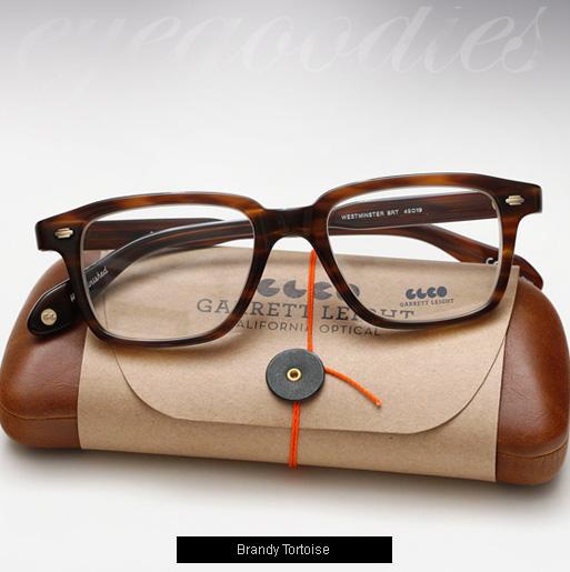 Garrett Leight Westminster eyeglasses - Brandy Tortoise