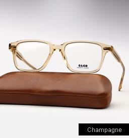 Garrett Leight Westminster eyeglasses - Champagne