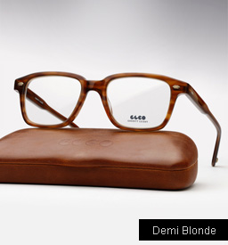 Garrett Leight Westminster eyeglasses - Demi Blonde