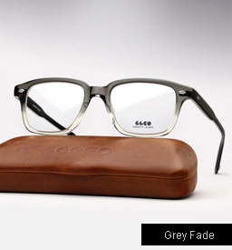 Garrett Leight Westminster eyeglasses - Grey Fade