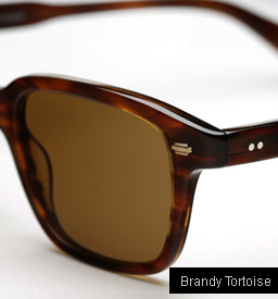 Garrett Leight Westminster sunglasses - Brandy Tortoise