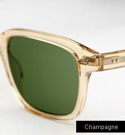Garrett Leight Westminster sunglasses - Champagne