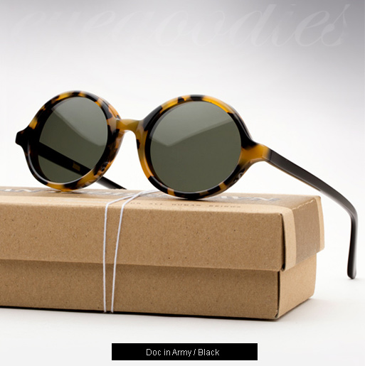 Han Doc sunglasses - Army Tortoise / Black