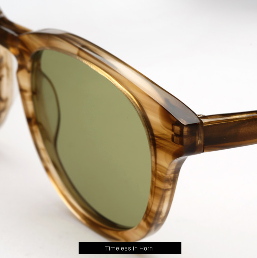 Han Timeless sunglasses - Horn