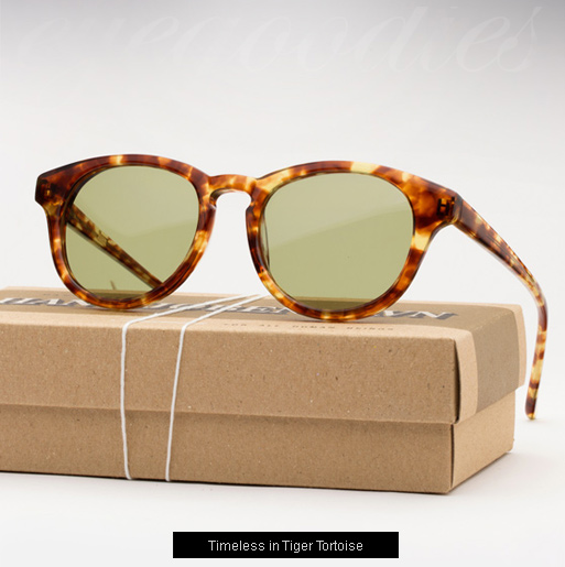 Han Timeless sunglasses - Tiger Tortoise