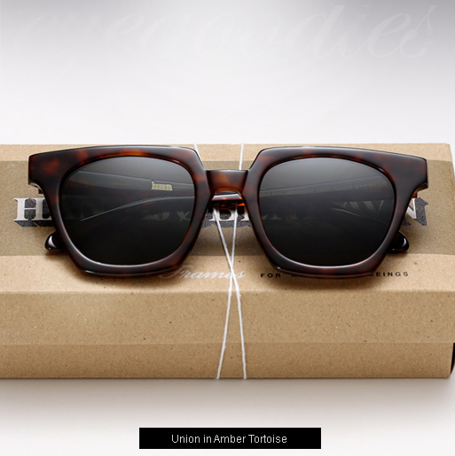Han Union Sunglasses - Amber Tortoise
