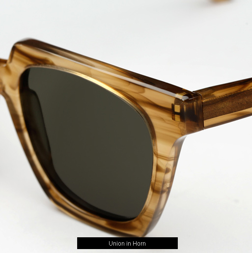 Han Union Sunglasses - Horn